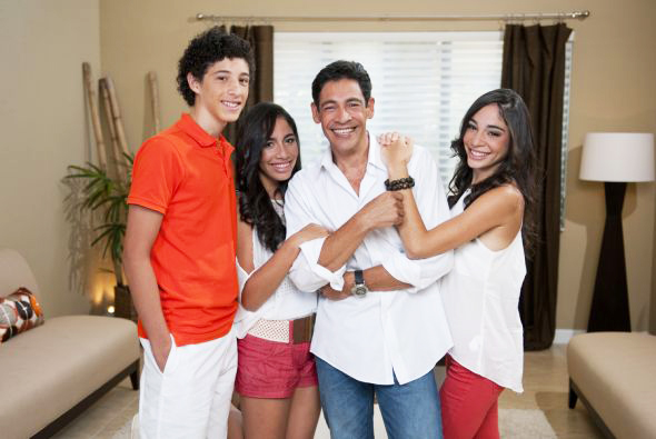 Johnny Lozada e hijos